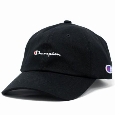 キャップ チャンピオン Champion 帽子 春 夏 秋 冬 メンズ レディース コットンツイル 綿 黒 ブラック