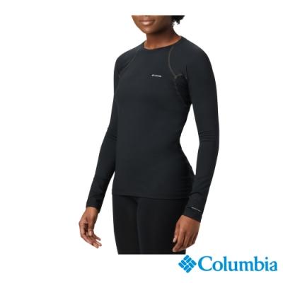 Columbia 哥倫比亞 女款- Omni HEAT 加厚鋁點保暖內著上衣-黑色 UAL67210BK