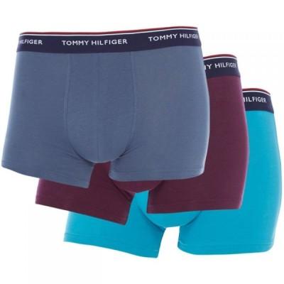 トミー ヒルフィガー Tommy Bodywear メンズ ボクサーパンツ 3点セット インナー・下着 3 Pack Premium Essential Trunks Multi Coloured