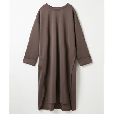 重ねスリット入ワンピース (ワンピース)Dress