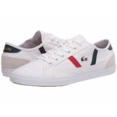 Lacoste ラコステ レディース 女性用 シューズ 靴 スニーカー 運動靴 Sideline Tri 2 White/Navy/Red【送料無料】