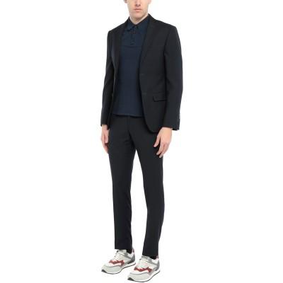 DOMENICO TAGLIENTE スーツ ダークブルー 44 ポリエステル 65% / レーヨン 35% スーツ