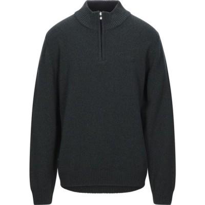 ブルックスフィールド BROOKSFIELD メンズ ニット・セーター トップス sweater with zip Dark green