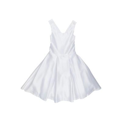 PICCOLA LUDO ワンピース&ドレス ホワイト 10 ポリエステル 100% ワンピース&ドレス