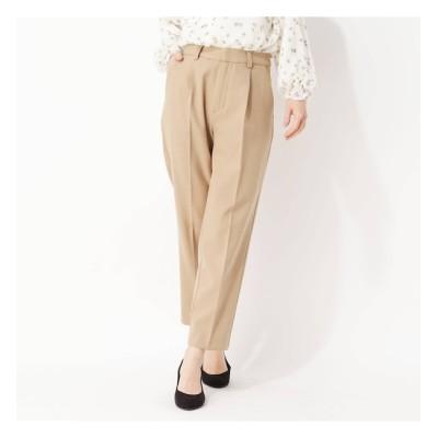 【グローブ/grove】 My Best Pants きれい見えテーパードパンツ