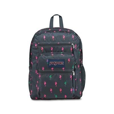 JanSport Big Student Backpack - Dark Slate Seahorse - Oversized 並行輸入品