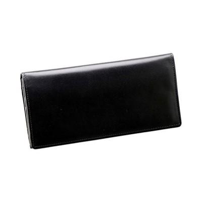 手塗りオイルレザー ササマチ長財布 ブラック