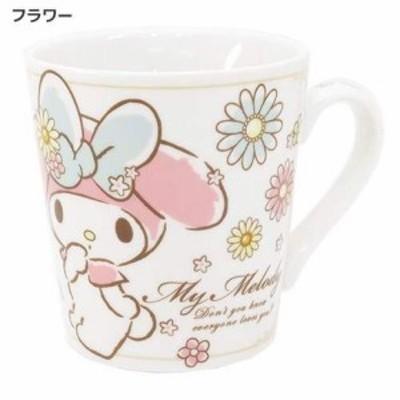◆マイメロディ 陶器製マグ/フラワー(サンリオアニメキャラ)お土産,キャラクターグッツ通販(79)