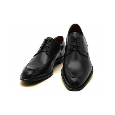 [ケンフォード] KENFORD メンズ リーガル社製 本革 ビジネスシューズ スワールトゥ 幅広 4E KB47 ブラック 27.5cm