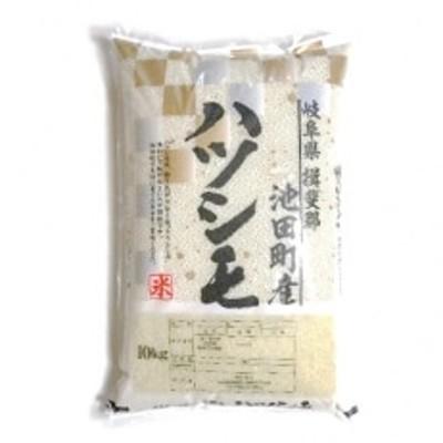 【野原農園】ハツシモ 白米10kg