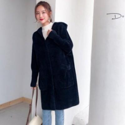【最大2000円offクーポン】ウールコート レディース 40代 モッズコート おしゃれ アウター モコモコ ゆったり ジャケット 暖かい 秋 20代