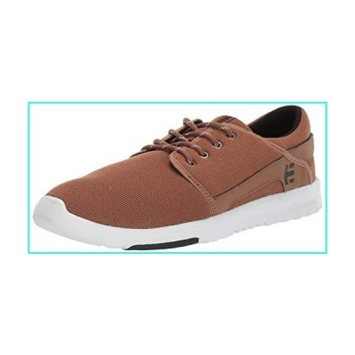 【新品】Etnies Men's Scout Skate Shoe, tan/Black, 13 Medium US(並行輸入品)