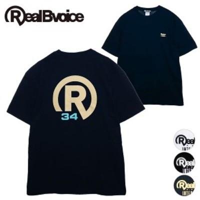 【30%OFF】リアルビーボイス RealBvoice BASIC R34 LOGO T-SHIRT BIG SIZE
