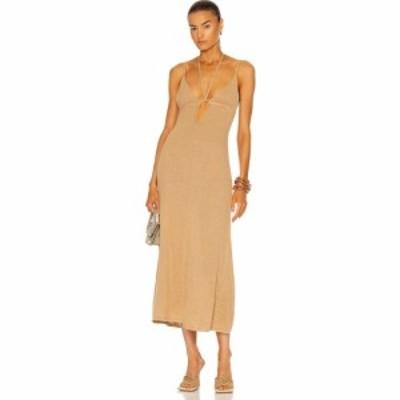 カルト ガイア Cult Gaia レディース ワンピース ワンピース・ドレス Kingsley Knit Dress Light Camel