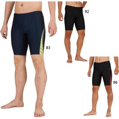 ミズノ メンズ アクアフィットネス用ハーフスパッツ スイムウエア スイミング 水泳 フィットネス水着 N2JB0102