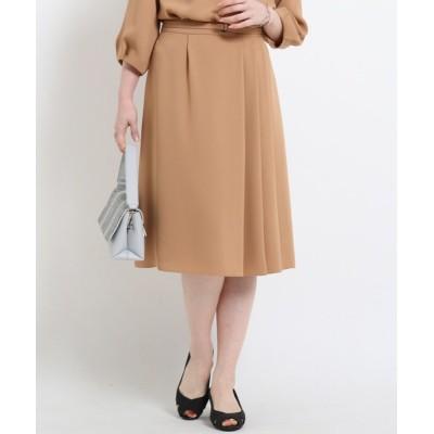 Reflect / 【WEB限定カラー】ベルト付きフリュイドスカート WOMEN スカート > スカート