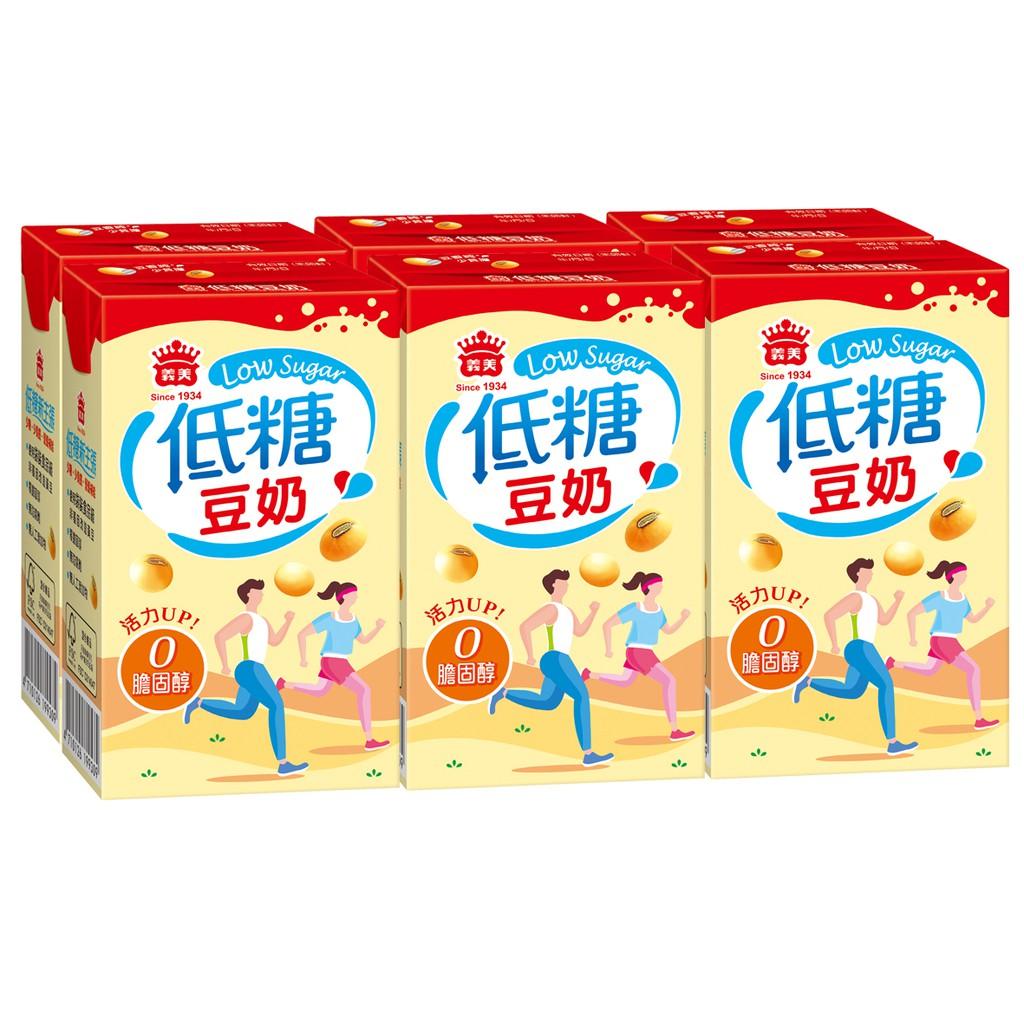 義美低糖黑豆奶250mlx6包/組  【大潤發】