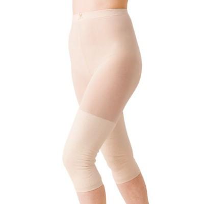 サポーター ひざ用 膝用 パンスト 保温 日本製   3400 婦人両ひざサポーター ベージュ