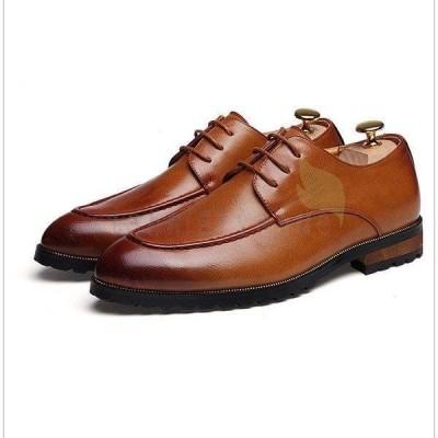 プレーントゥシューズビジネスシューズ紳士靴革靴メンズ内羽根ストレートチップ3e通勤ビジネス仕事2019新作