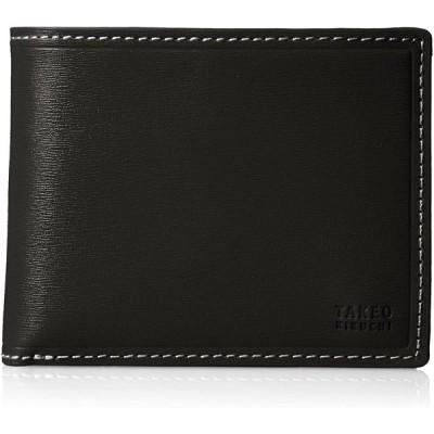 [タケオキクチ] 財布 タイム 726604 クロ