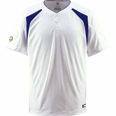 デサント(DESCENTE) コンビネーションTシャツ SWRY DB-205 【野球 ウエア ユニホーム ベースボールシャツ】