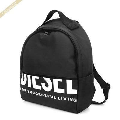 ディーゼル DIESEL リュックサック ロゴ バックパック ブラック X07349 P3188 T8013