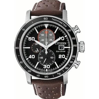 【送料無料】シチズン CITIZEN メンズ腕時計 海外モデル ECO-DRIVE エコドライブ クロノグラフ CA0641-24E