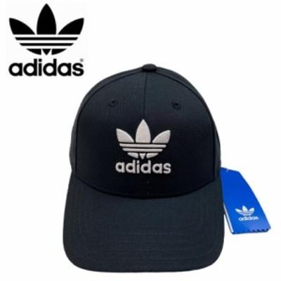 アディダス オリジナルス キャップ トレフォイル ブラック 帽子 野球帽 レディース ワンサイズ ADIDAS ORIGINALS BASEBALL CLASS TREFOIL