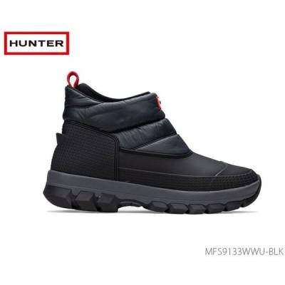 ハンター HUNTER メンズ オリジナル スノー アンクル ブーツ MFS9133WWU BLK