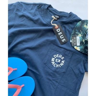 tシャツ Tシャツ [DEUS EX MACHINA/デウス エクス マキナ] DEUS ロゴプリントTシャツ