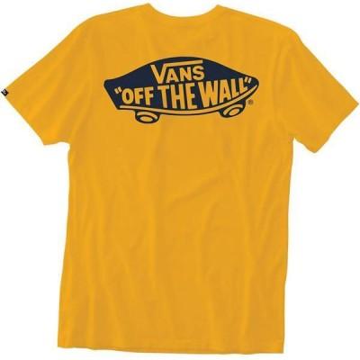 バンズ メンズ Tシャツ トップス Vans Men's Off The Wall T-Shirt