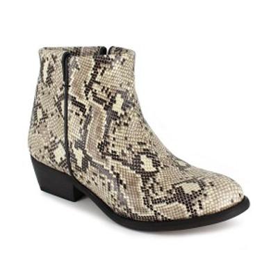 ジジソーホー レディース ブーツ&レインブーツ シューズ Women's Lissa Ankle Booties White Snake