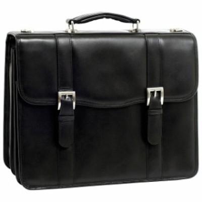 McKlein  旅行用品 キャリーバッグ McKlein USA V Series Flournoy 15&#034 Leather Double Non-Wheeled Business Case NEW