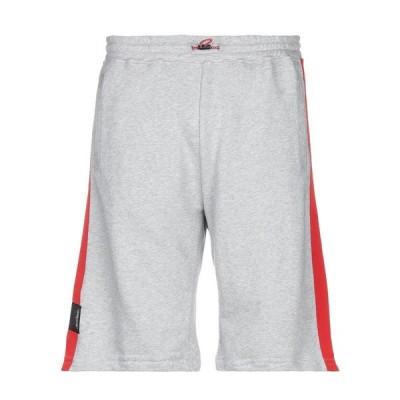 BEN TAVERNITI UNRAVEL PROJECT ショートパンツ&バミューダパンツ ファッション  メンズファッション  ボトムス、パンツ  ショート、ハーフパンツ グレー