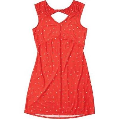 マーモット レディース ワンピース トップス Marmot Women's Annabelle Dress Victory Red Polkadot