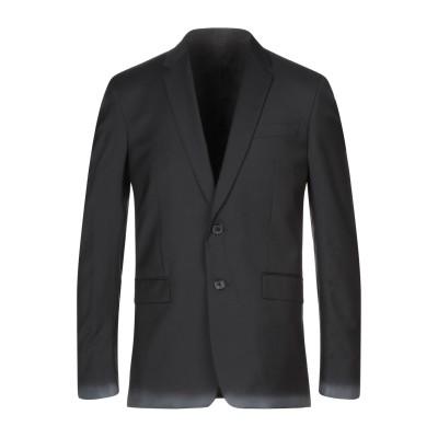 ドンダップ DONDUP テーラードジャケット ブラック 50 ウール 100% テーラードジャケット