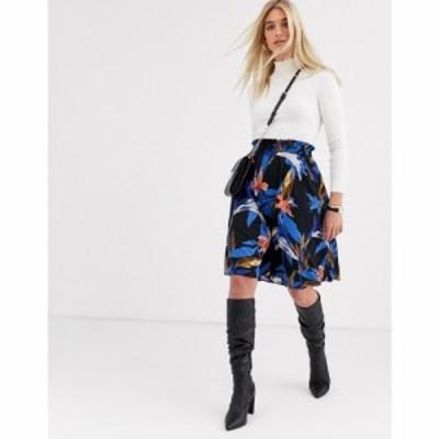ヴェロモーダ Vero Moda レディース ひざ丈スカート スカート floral midi skirt フローラル
