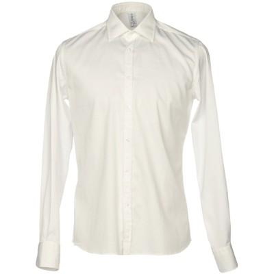 エティケッタ 35 ETICHETTA 35 シャツ ホワイト 44 コットン 98% / ポリウレタン 2% シャツ