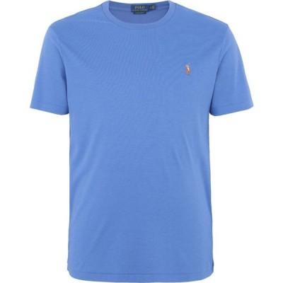 ラルフ ローレン POLO RALPH LAUREN メンズ Tシャツ トップス custom slim soft cotton tee Pastel blue