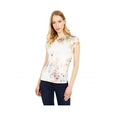 Ted Baker テッドベイカー レディース 女性用 ファッション Tシャツ Vanilla T-Shirt - White
