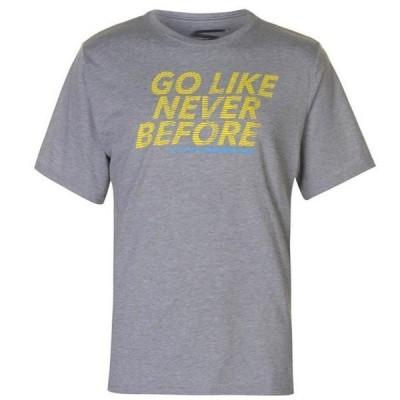 スケッチャーズ シャツ メンズ トップス Slogan T Shirt Mens
