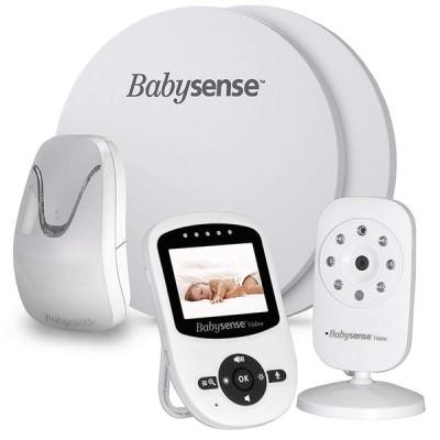 ベビーモニター 室温アラート 2倍デジタルズーム 高感度センサーバッド 赤ちゃん