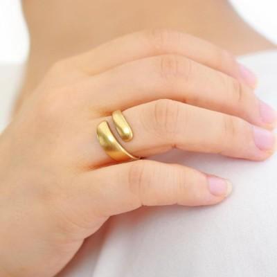 リング ニッケルフリー ラップ ヴィンテージ風 メタル 13号 指輪