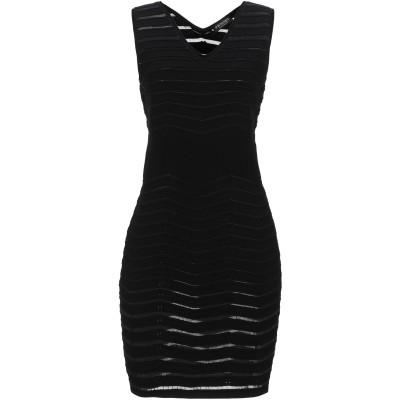ツインセット シモーナ バルビエリ TWINSET ミニワンピース&ドレス ブラック M レーヨン 66% / ポリエステル 34% ミニワンピース