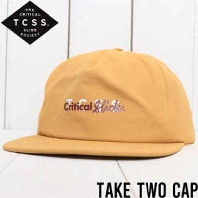【送料無料】 TCSS ティーシーエスエス TAKE TWO CAP スナップバックキャップ HW1911 SAND