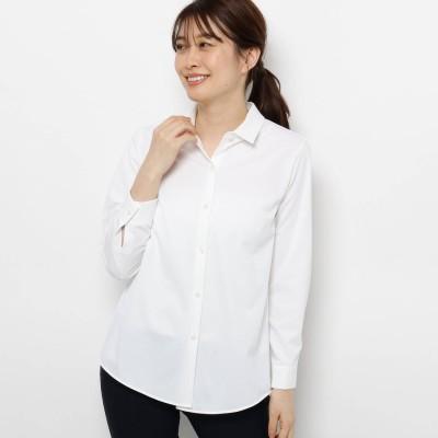 スマートピンク smart pink 【手洗い可】ベーシックシャツ (ホワイト)