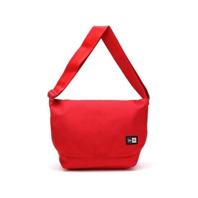 【ギャレリア】 ニューエラ ショルダーバッグ NEW ERA メッセンジャーバッグバッグ ショルダー 9L Shoulder Bag ユニセックス レッド F GALLERIA