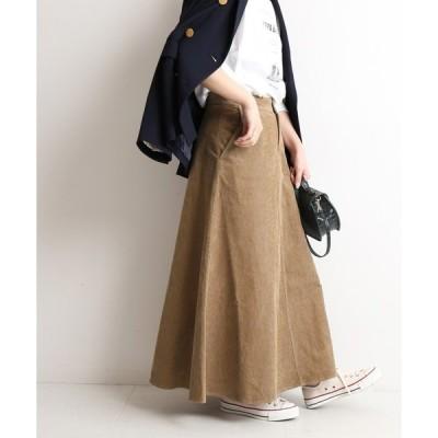 スカート 13Wコールマーメイドスカート【手洗い可能】◆