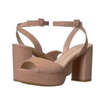 チャイニーズランドリー Chinese Laundry レディース ヒール シューズ・靴 Theresa Dark Nude Microsuede