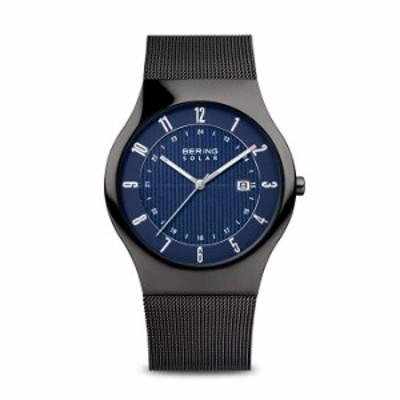 腕時計  BERING Time   メンズ スリムウォッチ 14640-227   40mm ケース   ソーラーコレクション   ステンレススチールストラップ   傷つ